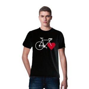 BIKE LOVE (boys eco shirt black) - nicegreenstuff