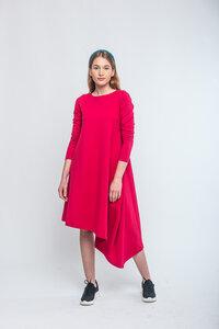 Kleid Tempura asymmetrischer Schnitt - KOKOworld