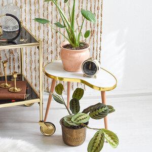 Blumenhocker für Pflanzen und Blumentöpfe in Nierenform - Mighty Home