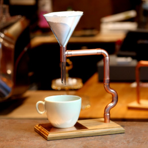 DIY Kaffeebereiter Pour Over Star - Holzköpfchen