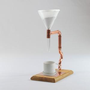 Kaffeebereiter Pour Over Star - Holzköpfchen