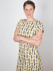 """Kleid """"Rosa"""" Jerseykleid aus Bio-Baumwolle - emmy pantun"""
