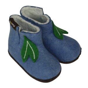 Hausschuhe - Baby Mongs Hellblau - mongs®
