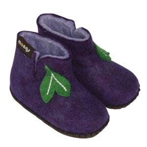 Hausschuhe - Baby Mongs Violett - mongs®