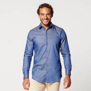 Nachhaltige Langarm Herren Hemd Skot Circular Eagle - SKOT Fashion