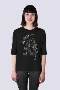 Göttin des Meeres, Damen Premium T-Shirt aus Bio Baumwolle Print - vis wear
