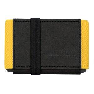 Kleiner Geldbeutel mit Münzfach A&K MINI schwarz wallet - ANDERS & KOMISCH