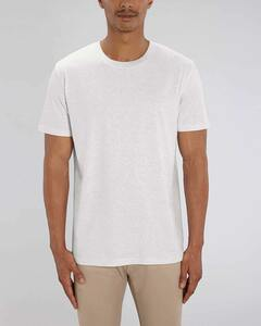 Basic T-Shirt, Damen/Herren, 11 Farben meliert, schwerere Bio-Baumwolle - YTWOO