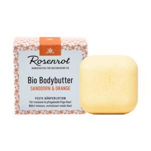 Bio Bodybutter Sanddorn & Orange | 70g - Rosenrot Naturkosmetik