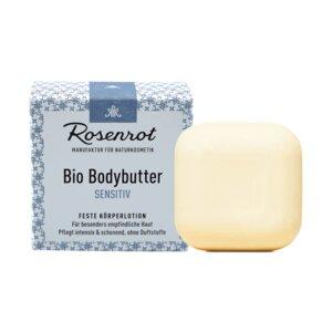 Bio Bodybutter Sensitiv | 70g - Rosenrot Naturkosmetik