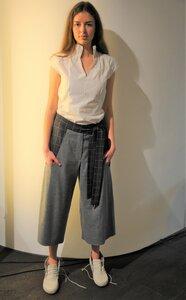 Hosenrock / Culotte aus feiner Wolle  - käufer (d) sein ALL UPCYCLED