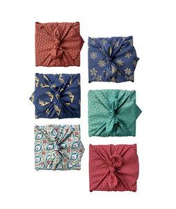 Geschenkverpackung 6er Stück Weihnachts-Multipack - FabRap