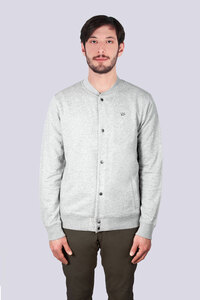 Leichte Herren Sweatshirt Jacke - vis wear
