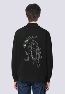Göttin des Meeres, Leichte Herren Sweatshirt Jacke Print - vis wear
