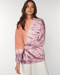 Reine Biobaumwolle - gemütlich lässig großer Sweater Batikstyle - Kultgut
