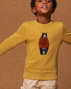Flauschig - weicher Sweater Unisex / Winterbear - Kultgut