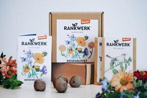 """Bio-Saatgut-Box """"Bienenbuffet"""" (Demeter-Qualität) - Rankwerk"""