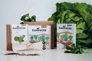 "Bio-Saatgut-Box ""Salatbar"" (Demeter-Qualität) - Rankwerk"
