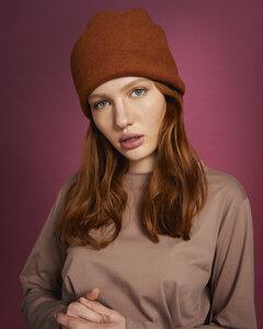 Mütze HARU aus Bio-Baumwoll-Fleece - JAN N JUNE