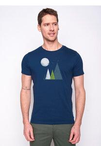 Herren Shirt 100% Biobaumwolle Nature Hills Guide GOTS Zertifiziert - GreenBomb