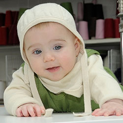 Baby Häubchen Frottee - Reiff