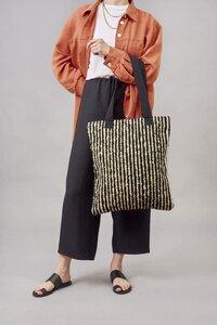 """Shopper Handtasche """"MARTINA"""" aus Schurwolle und Baumwolle, handgefertigt in Lateinamerika - Nata Y Limón"""