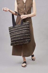 """Shopper Handtasche """"CHRISTINA"""" aus Schurwolle und Baumwolle, handgefertigt in Lateinamerika - Nata Y Limón"""