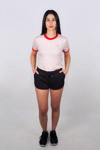 Kurze Damen Short, Joggingshorts für Yoga oder Freizeit aus Bio Baumwolle - vis wear