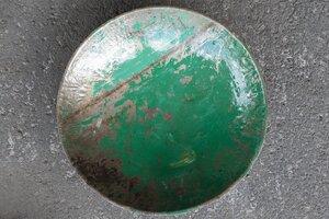 Kleine Schale aus recycelten Ölfässern ca. 30 cm Industrial Design Upcycling - Moogoo Creative Africa