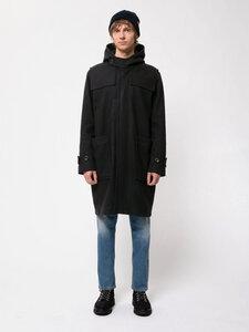 Duffel Coat aus recycelter Wolle von Nudie Jeans, Navy - Nudie Jeans