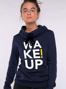 Damen Hoodie - WAKE UP! - Erdbär