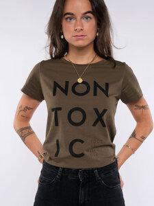 Damen T-Shirt - NON TOXIC - Erdbär