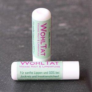 WOHLTAT Vegane Haut & Lippenpflege - Angel Minerals