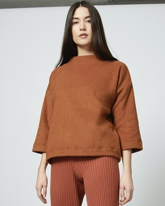 Pullover GANYMED brick - JAN N JUNE