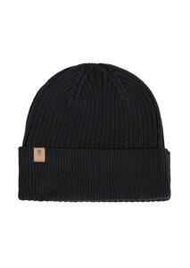 Mütze aus Bio Baumwolle rot | Short Knit Beanie - recolution