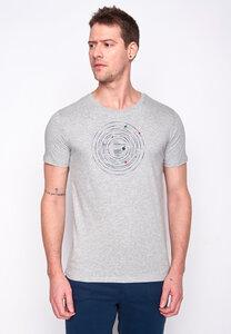 Herren Shirt 100% Biobaumwolle Outer Space Record Guide GOTS Zertifiziert - GreenBomb