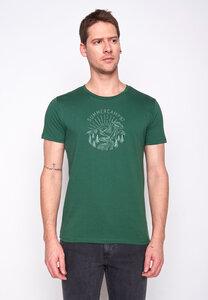 Herren Shirt 100% Biobaumwolle Outer Space Summer Camp Guide GOTS Zertifiziert - GreenBomb