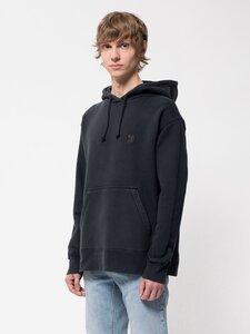 """Kapuzensweatshirt aus Biobaumwolle """"Franke NJCO Circle"""" Navy - Nudie Jeans"""
