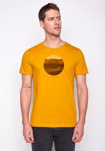 Herren Shirt 100% Biobaumwolle Bike Hills Spice GOTS Zertifiziert - GreenBomb