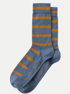 Nudie Jeans Socken Olsson Tiger Stripes - Nudie Jeans