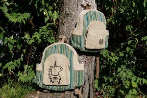 HH Rucksack RAMRI aus Hanf von Himal Hemp (Backpack Medium) - Himal Hemp