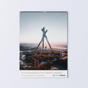 Im Schwarzwald mit Fabian Huebner - Kalender 2021 - Photocircle