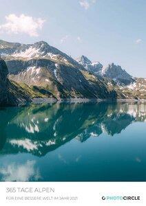 365 Tage Alpen von Sebastian Scheichl - Kalender 2021 - Photocircle