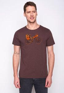Herren Shirt 100% Biobaumwolle Bike Nomad Spice GOTS Zertifiziert - GreenBomb