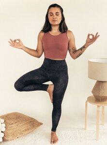Yogahose - Printed Tights - Mandala