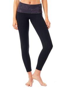 Yogahose - Fold Over Legging - Mandala