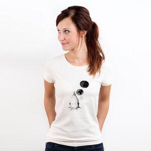 Überfischung - Frauenshirt mit Print Bio & Fair - Coromandel