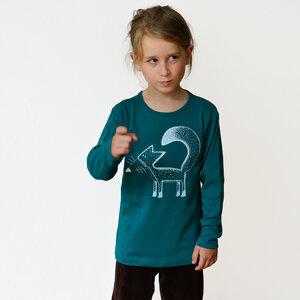 Franzi Fuchs Langarmshirt für Kinder - Cmig