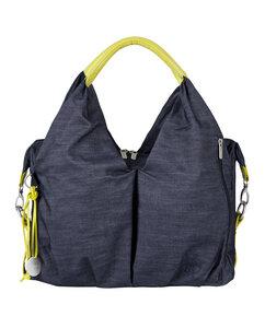 Lässig Wickeltasche Green Label  Neckline Bag Denim blue  - Lässig