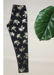 "Heldinnen Bio Leggings ""Palms - Golden Age ""  11/19 made in Hamburg  - Mondkind von Fesche"